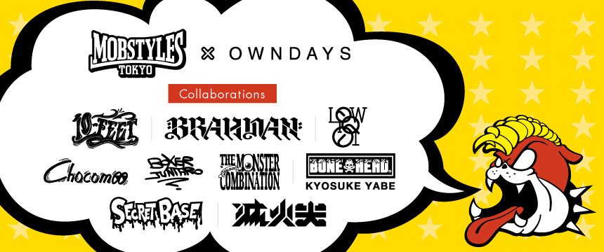 MOBSTYLES × OWNDAYS
