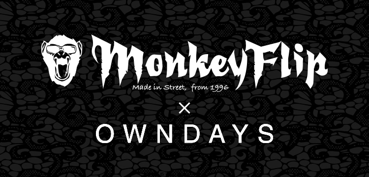 MonkeyFlip × OWNDAYS眼鏡鏡框