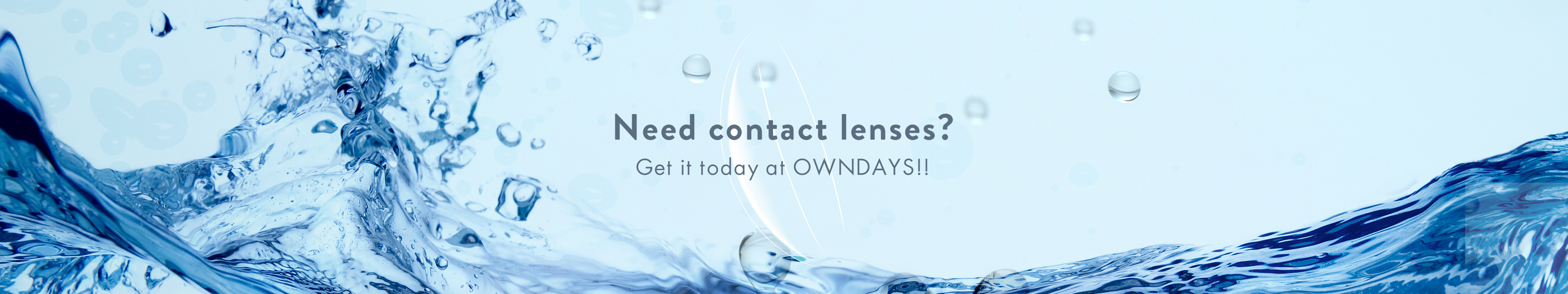Contact lenses Available