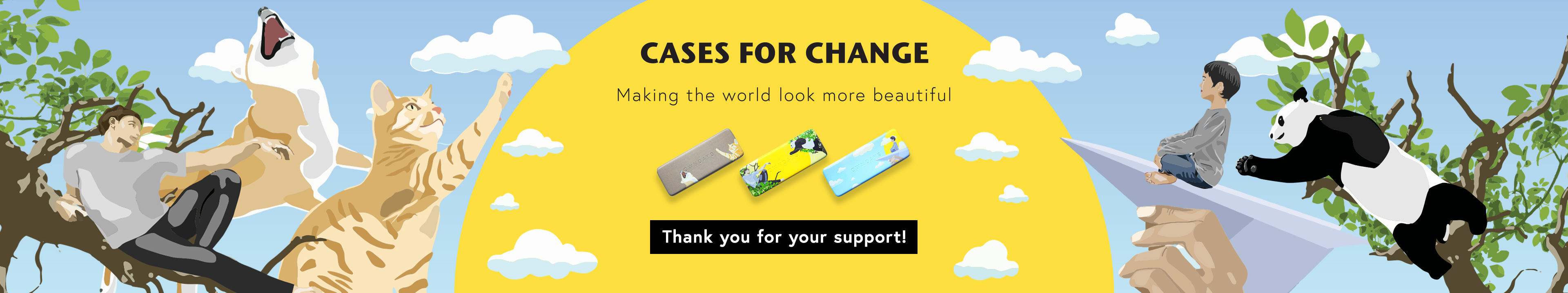 CASES FOR CHANGE