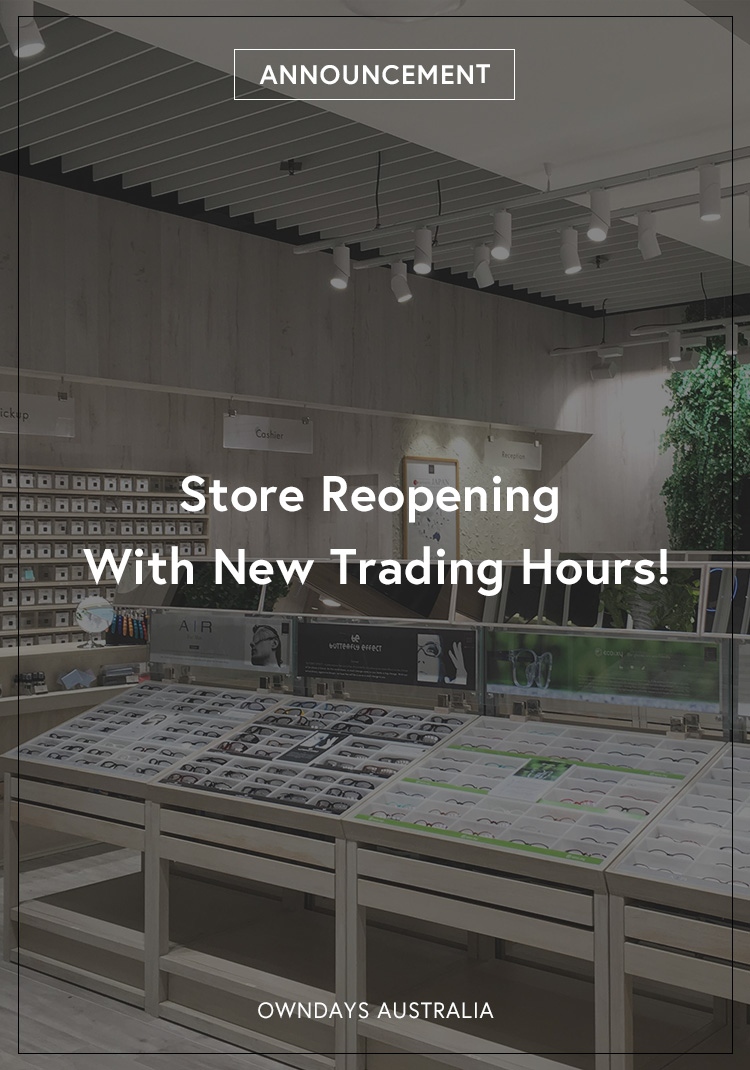 Store Reopening With New Trading Hours!