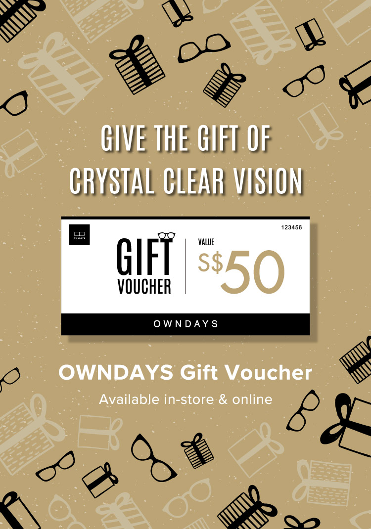 GIVE THE GIFT OF CRYSTAL CLEAR VISION