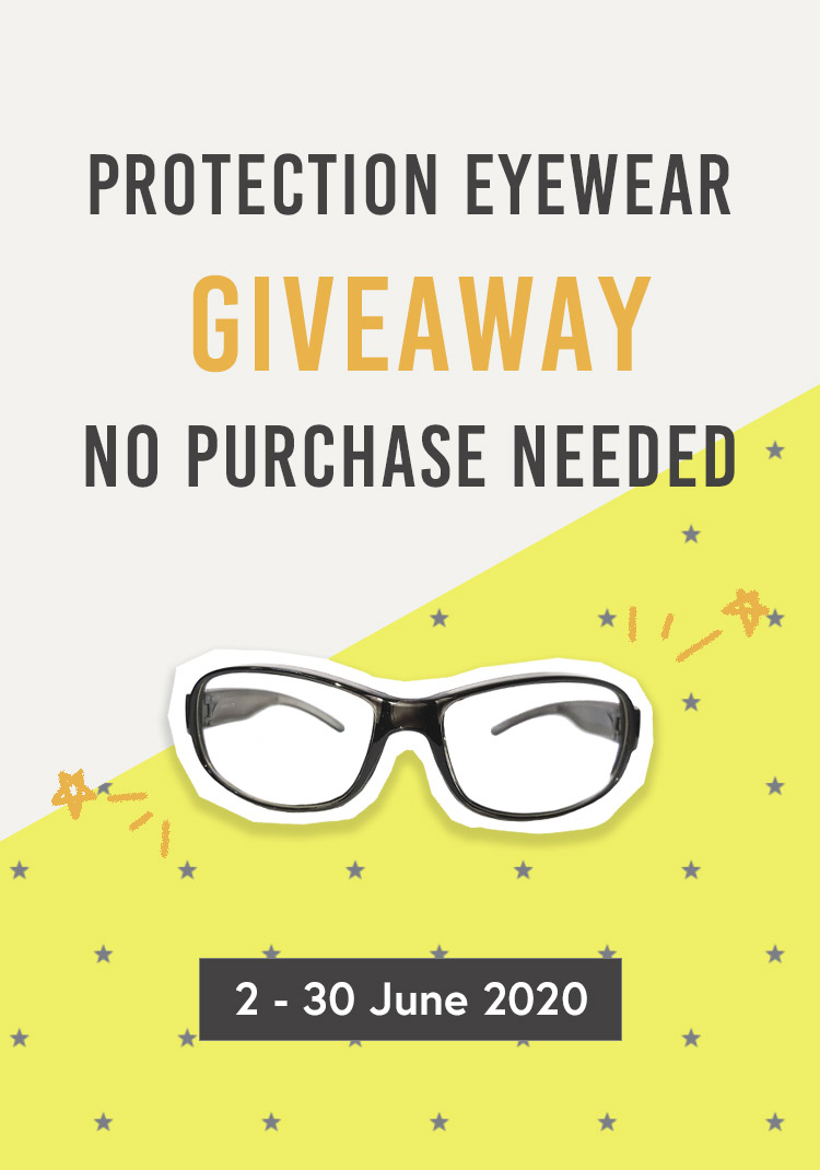 Protection Eyewear Giveaway, No Purchase Needed
