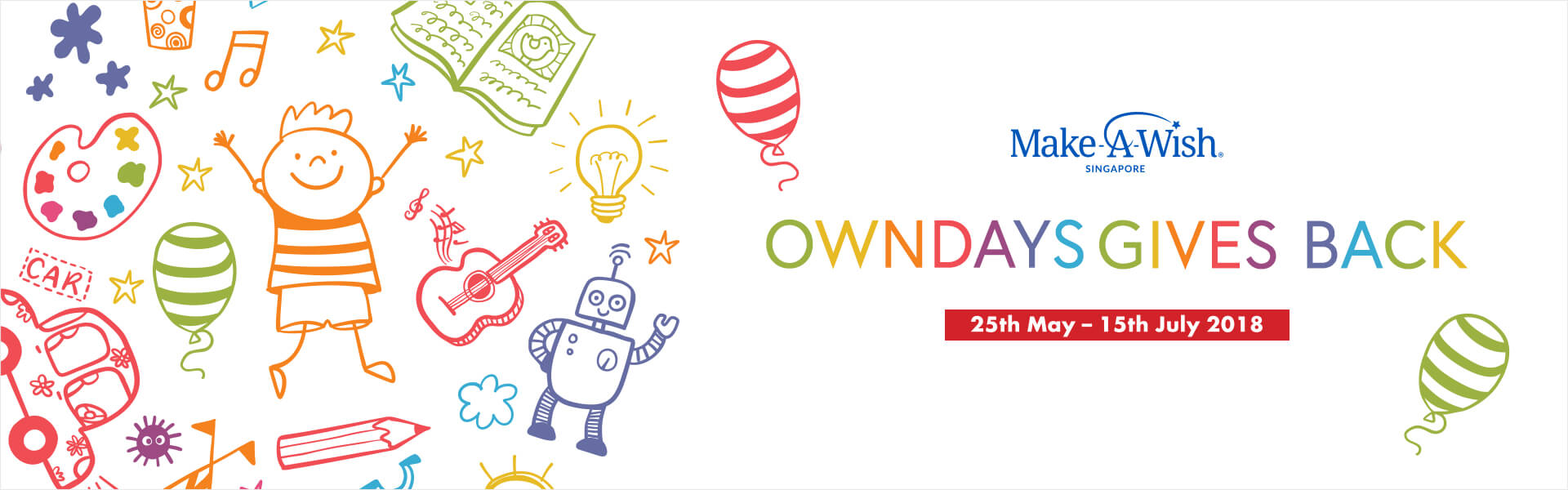 OWNDAYS GIVES BACK